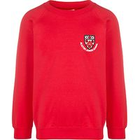 Alleyns Junior School Infant Unisex Sweatshirt, Red