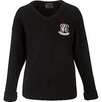 Kings Langley Secondary School Unisex Jumper, Black