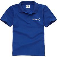 Heronsgate School Unisex Polo Shirt, Royal Blue