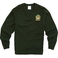 King Fahad Academy Unisex Pullover, Bottle Green