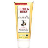 Burts Bees Naturally Nourishing Milk & Honey Body Lotion, 170g