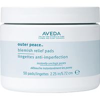 AVEDA Outer Peace Blemish Relief Pads, 50 pads