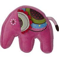 little home at John Lewis Abbey Elephant Plush Shaped Cushion