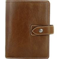 Filofax Leather Pocket Malden Organiser, Ochre