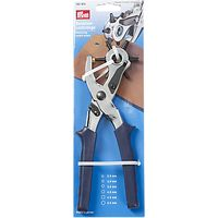 Prym Revolving Leather Punch Pliers, 6 Hole Sizes