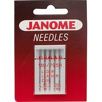 Janome Leather Needles, Pack of 5