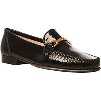 Carvela Mariner Leather Loafers, Black