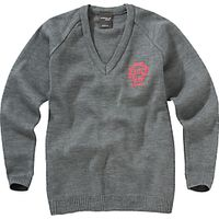 Thornton College Girls Pullover, Grey