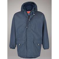 School Unisex Padded Jacket, Navy