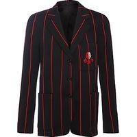 Lady Margaret School Girls Blazer, Black/Red