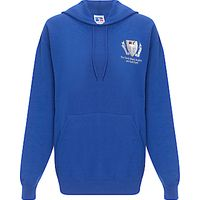 The South Wolds Academy & Sixth Form Unisex Hoody, Royal Blue