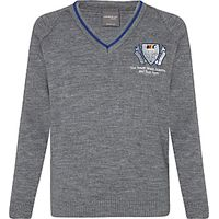 The South Wolds Academy & Sixth Form Unisex Jumper, Grey