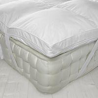 John Lewis Luxury Memory Foam with Microfibre Mattress Topper