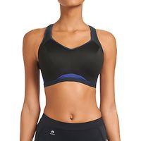 Freya Sports Crop Top Bra, Electric Black