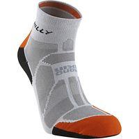 Hilly Marathon Fresh Anklet, Grey/Orange