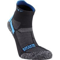 Hilly Energize Anklet Socks, Black/Blue