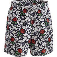 Vilebrequin Floral Swim Shorts, White