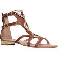 Carvela Metal Detail Cut Out Sandals