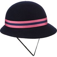 St Martins School Winter Hat, Navy/Pink