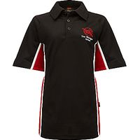 The Westgate School Polo Shirt, Black/Red