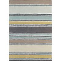 Harlequin Embroidered Stripped Rug