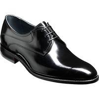 Barker Wickham Derby Shoes, Black