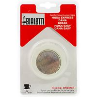 Bialetti Moka Express Hob Espresso Maker Replacement Gasket and Filter