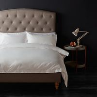John Lewis 1200 Thread Count Cotton Bedding, White