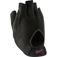 Nike Womens Fundamental Training Gloves, Black/Vivid Pink