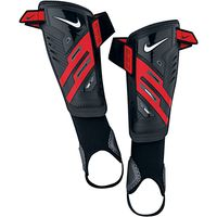 Nike Protegga Shield Shin Guards, Black/Red