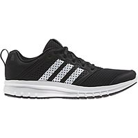 Adidas Madoru 11 Mens Running Shoes, Black/White