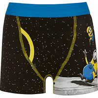 Universal Boys Minion Space Trunks, Pack of 2, Black