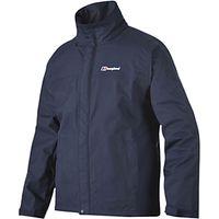 Berghaus RG Alpha Waterproof Jacket, Navy