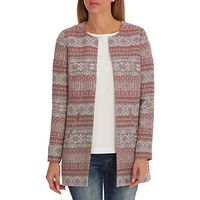 Betty & Co. Striped Tapestry Coat, Blue/Red