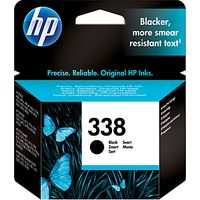 HP 338 Inkjet Cartridge, Black, C8765EE