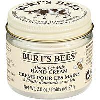 Burts Bees Almond Milk Beeswax Hand Creme, 57g