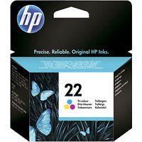 HP 22 Inkjet Cartridge, Tri-Colour, C9352AE