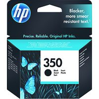 HP 350 Inkjet Cartridge, Black, CB335EE