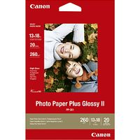 Canon Glossy Photo Paper, 13 x 18cm, 20 Sheets