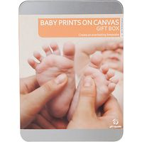 Baby Prints Canvas Gift Tin