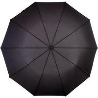 Fulton Magnum Automatic Folding Umbrella, Black