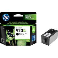 HP 920XL Officejet Printer Cartridge, Black, CD975AE