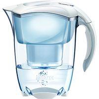 Brita Elemaris Meter Water Filter Jug, Cool White
