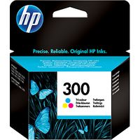 HP 300 Inkjet Cartridge, Colour
