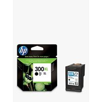 HP 300XL Inkjet Cartridge, Black, CC641EE