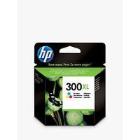 HP 300XL Inkjet Cartridge, Colour