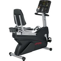 Life Fitness New Club Series Recumbent Lifecycle Exercise Bike