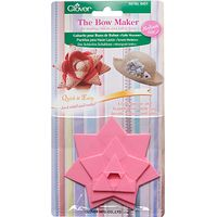 Clover Bow Maker Templates, Medium