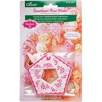Clover Sweetheart Rose Maker, Medium