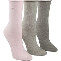 Calvin Klein Roll Top Crew Socks